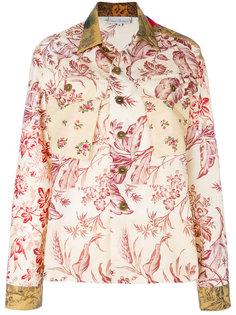 куртка рубашечного кроя с цветочным принтом Pierre-Louis Mascia