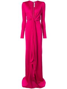 вечернее платье со слегка завышенной талией Givenchy