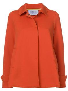 короткая куртка со складкой сзади  Harris Wharf London