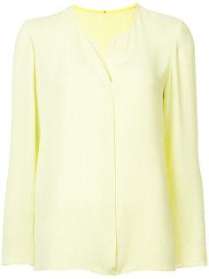 блузка с круглым вырезом с прорезью Peter Cohen