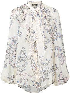 блузка с цветочным рисунком Les Copains