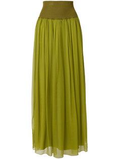 пышная юбка макси Alberta Ferretti
