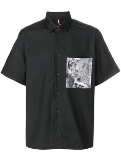 рубашка с контрастным карманом Oamc