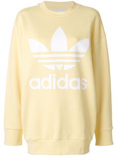 толстовка мешковатого кроя Adidas Originals Trefoil Adidas