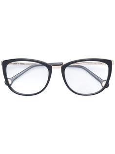 очки с квадратной оправой Carolina Herrera