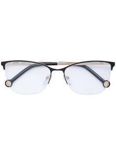 """очки с оправой """"кошачий глаз"""" Carolina Herrera"""