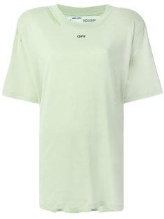 футболка с логотипом  Off-White