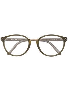 """очки в оправе """"кошачий глаз"""" Chloé Eyewear"""