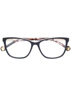 """очки в оправе """"кошачий глаз"""" Carolina Herrera"""