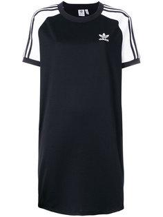 платье с рукавами реглан и полосками Adidas Originals Adidas