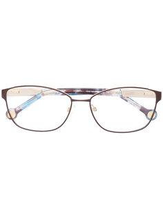 очки с прямоугольной оправой Carolina Herrera
