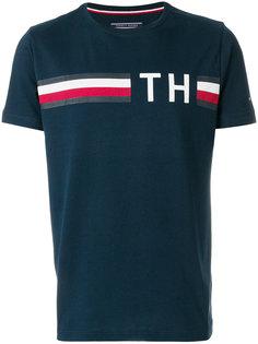 футболка с принтом логотипа Tommy Hilfiger