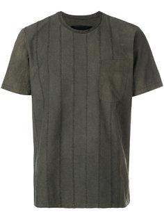 футболка в полоску Uma Wang