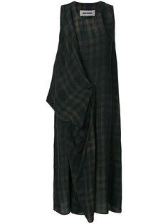 платье в клетку Uma Wang