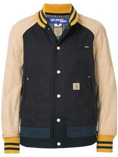 двухцветная куртка-бомбер Junya Watanabe Comme Des Garçons Man