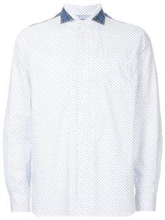рубашка с узором Junya Watanabe Comme Des Garçons Man