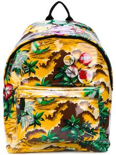 рюкзак с тропическим принтом Dsquared2