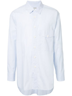 рубашка в полоску Wooyoungmi