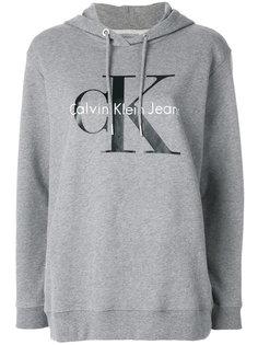 толстовка с капюшоном и логотипом  Calvin Klein Jeans
