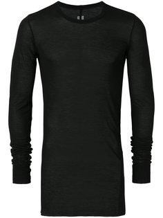 длинный свитер плотной вязки Rick Owens