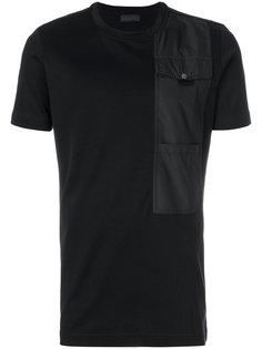 футболка с нагрудным карманом Diesel Black Gold