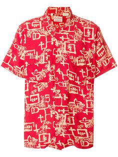 рубашка с цветочным принтом Levis Vintage Clothing
