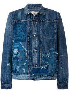 джинсовая рубашка с рваными деталями Levis: Made & Crafted