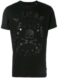 футболка с черепом с кристаллами Philipp Plein