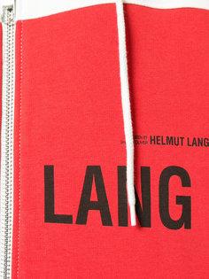 толстовка с капюшоном и логотипом Helmut Lang