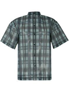 прозрачная рубашка в клетку Toga Pulla