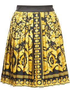 юбка с рисунком Signature Versace