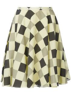 юбка с геометрическим принтом Nina Ricci