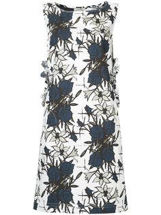 платье с цветочным принтом Nina Ricci