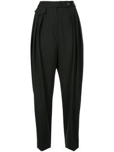 зауженные брюки с завышенной талией  Nina Ricci