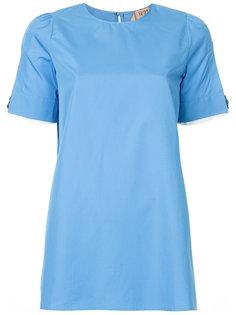 блузка с разрезами на рукавах Nº21