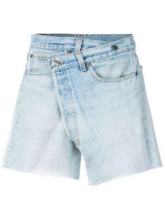 шорты с запахом R13