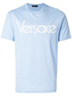 футболка с логотипом Versace Collection