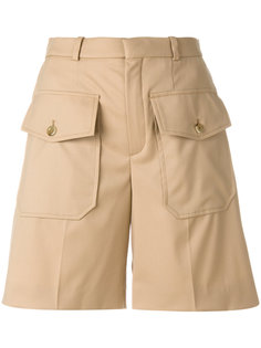 шорты с карманами с клапанами  Chloé