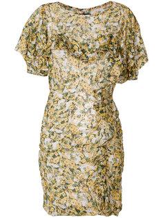 платье с цветочным принтом Face Isabel Marant