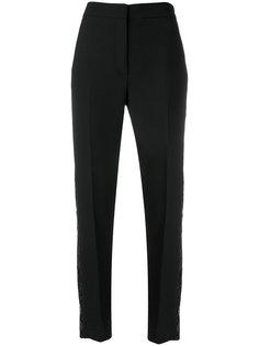 брюки с полосками и пайетками  Victoria Victoria Beckham