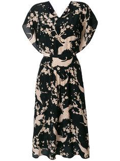 чайное платье с принтом  Nº21