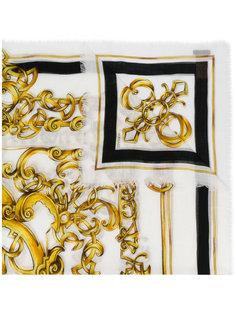 платок Baroccoflage с принтом Versace