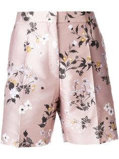 шорты с цветочным принтом  Rochas
