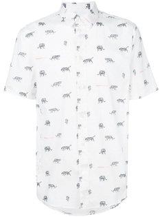 рубашка с принтом Versace Jeans