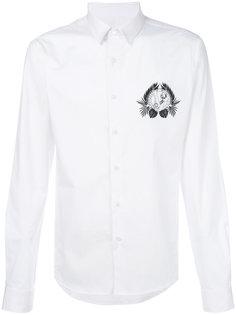 рубашка с принтом логотипа Versace Jeans