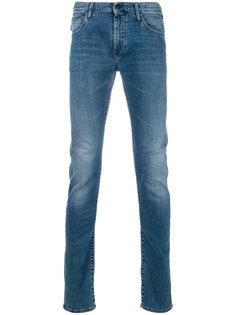 джинсы узкого кроя Emporio Armani