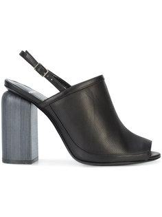 туфли без задника на устойчивом каблуке Pierre Hardy