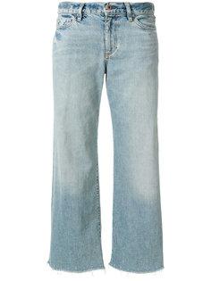 укороченные джинсы с необработанным краем  Simon Miller