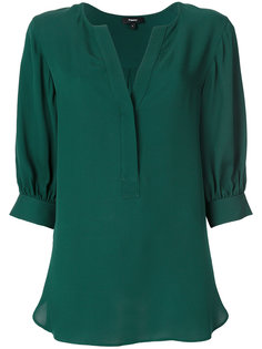 блузка с рукавами три четверти  Theory