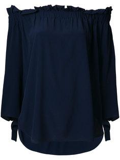 блузка с открытыми плечами  Erika Cavallini